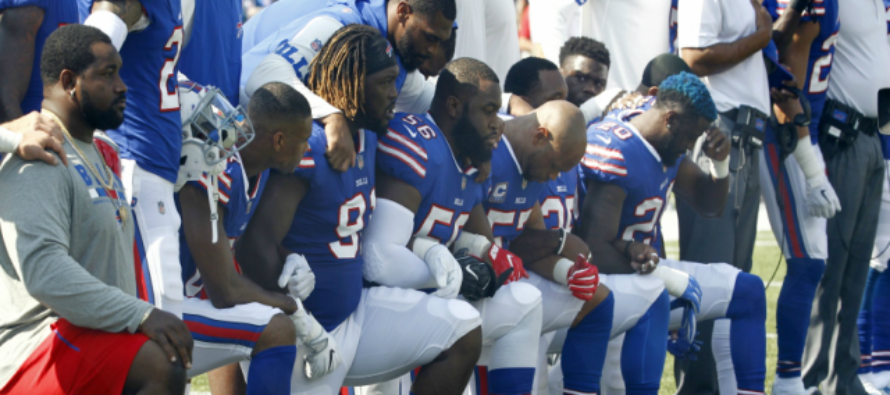 Hero: Stadium Worker Quits His Job After Bills Protest