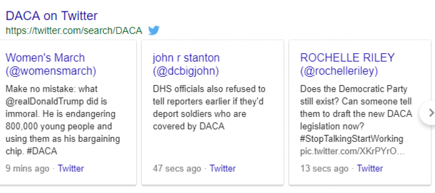 Just Like That, 18 Republicans Fall In To Oppose Trump's Elimination Of DACA