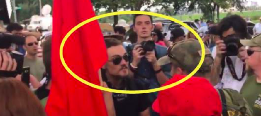 Watch What Happens When Police Unmask Cowardly Antifa Protesters at Trump Rally In DC