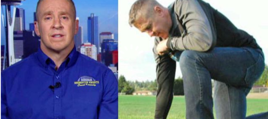 Football Coach Gets CUT After Kneeling For Prayer On Field – 'I Just Want The Same Rights As Everyone Else'