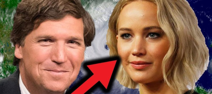Carlson Slams Jennifer Lawrence's Hurricane Comment: 'Being a Celebrity Is Bad for Your Soul' [VIDEO]