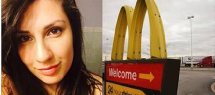 Woman Surprised To See McDonald's Employee Helping Customer EAT His Food (Photos)