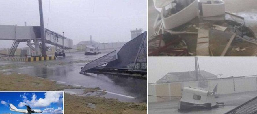 World Famous Airport FLATTENED By Hurricane Irma – Wreaking Total Devastation In Her Path [VIDEO]
