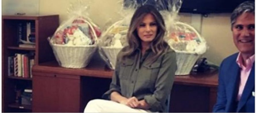 Melania Trump Picture Sparks OUTRAGE On Social Media [PHOTO]