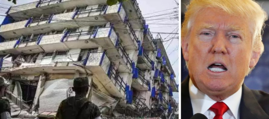 After Mexico's 7.1 Earthquake, President Trump Calls To Offer Assistance