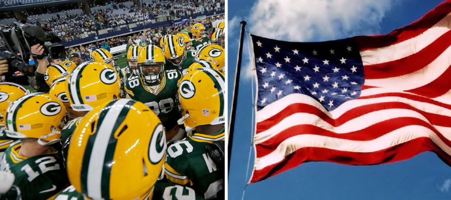 Packers Attempt To Recruit Fans Into Anthem Demonstrations – Fans Choose America