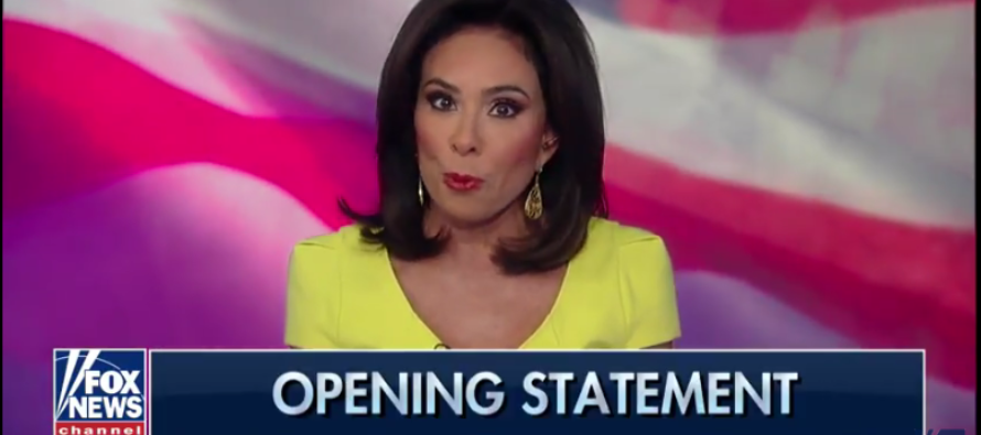 If You Thought Trump Nailed The NFL…  Wait Until You Hear Judge Jeanine [VIDEO]