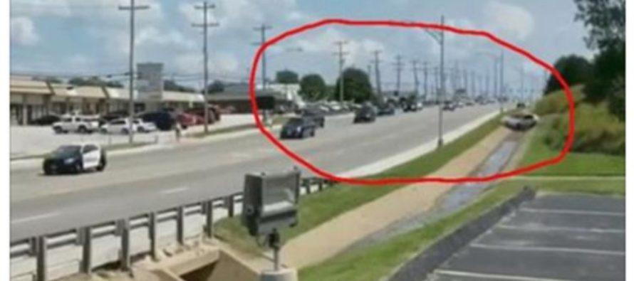 Car Plows Towards President Trump's Motorcade [VIDEO]