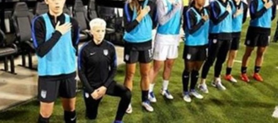 U.S. Women's Soccer Star Protests National Anthem Again Despite Warning, Pays The Price