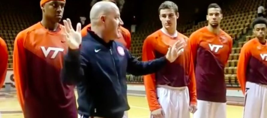 Coach Discovers Some Players Don't Want To Stand For National Anthem, Responds Accordingly (Video)