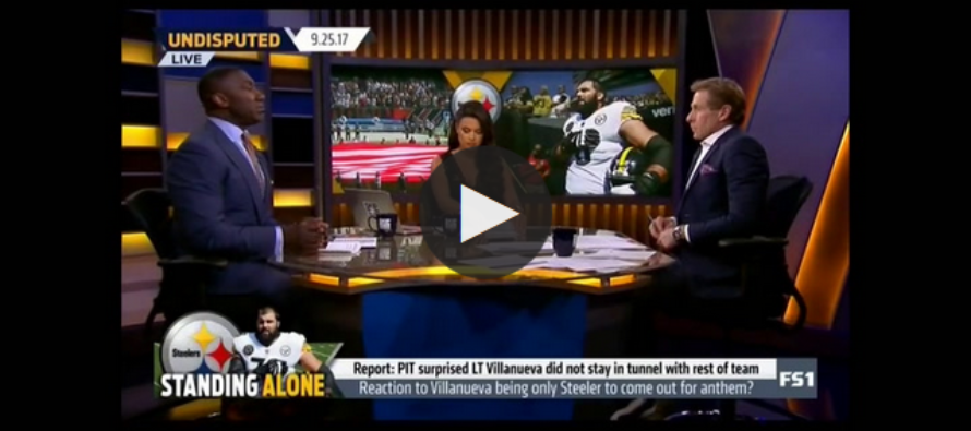 Shannon Sharpe: Alejandro Villanueva Was 'Wrong' to Stand for National Anthem [VIDEO]