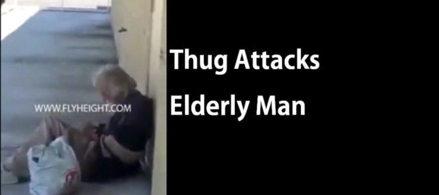 Teen Attacks Homeless Elderly Man [Video]