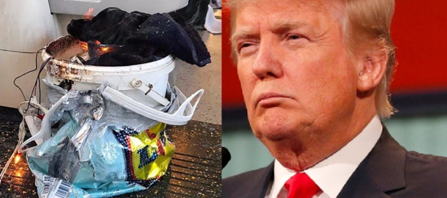 Bucket Bomber Arrested Two Weeks Ago, Proves Trump Tweet was Right