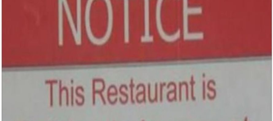 Sign At Dairy Queen Sparks Outrage, Owner REFUSES To Apologize (Photos)