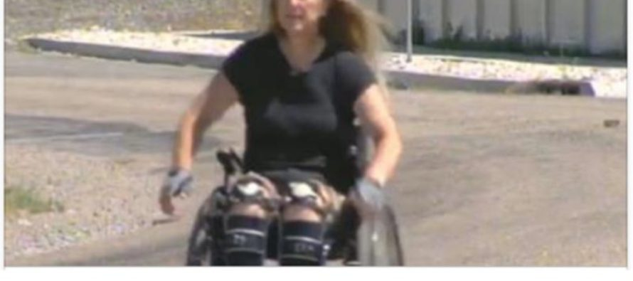 TransDisabled! Trandgender Identifies as Disabled PURPOSELY Crashed Bike to Become Paralyzed! [WATCH]