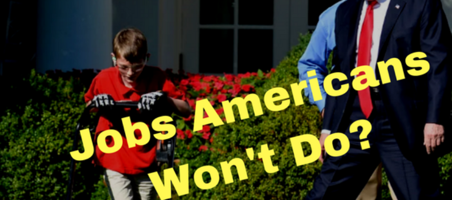 Trump Grants Boy's Wish Of Mowing WH Lawn – The Hate That Follows Defies Belief [VIDEO]
