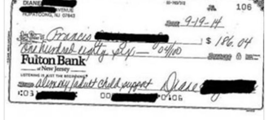 Man Sues Ex-Wife Over 2 Simple Words She Wrote on Alimony Checks (PHOTOS)