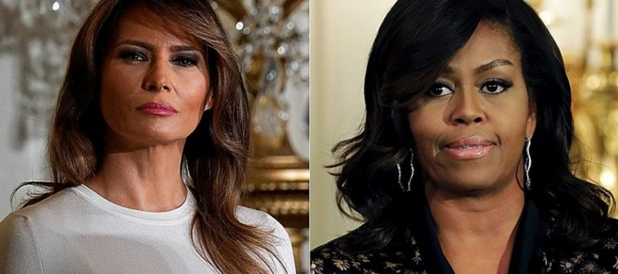 Melania Trump Puts Michelle Obama To Shame In Epic Way