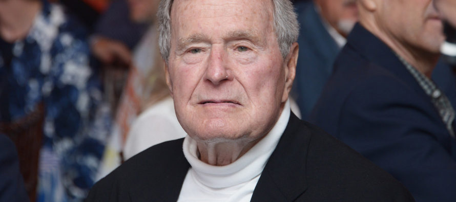 George H.W. Bush Hit With ANOTHER Sexual Harassment Claim [VIDEO]