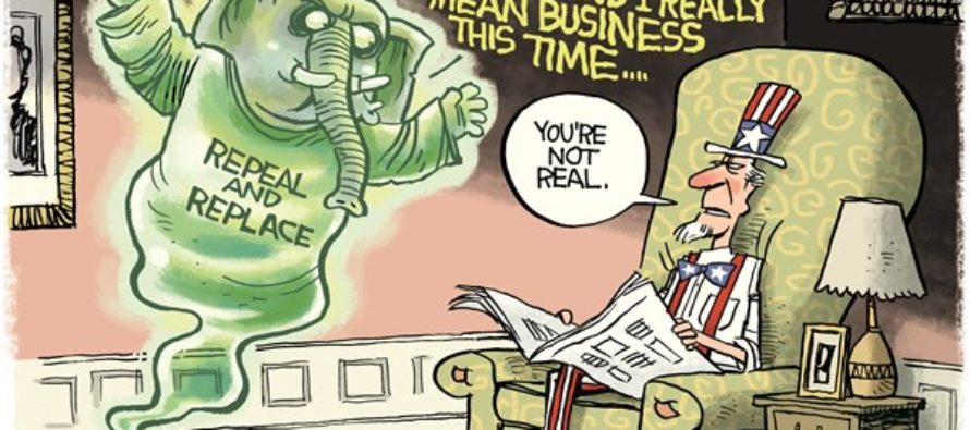 GOP Ghost (Cartoon)