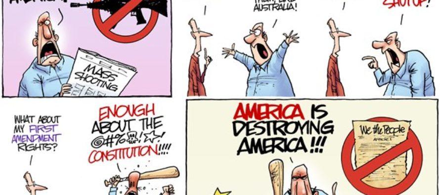 Gun Battle (Cartoon)