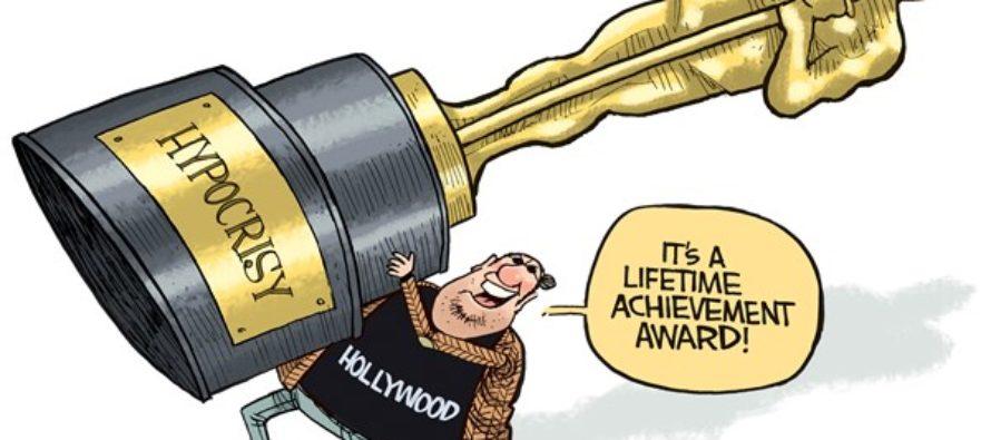 Hollywood Hypocrisy (Cartoon)