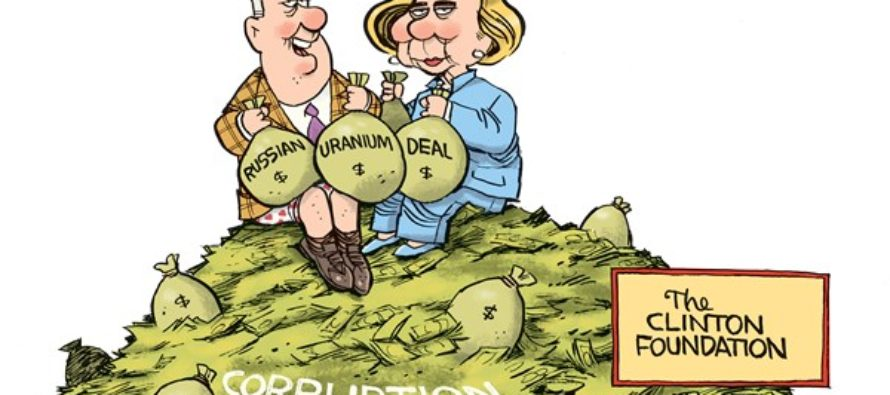 Clinton Foundation (Cartoon)