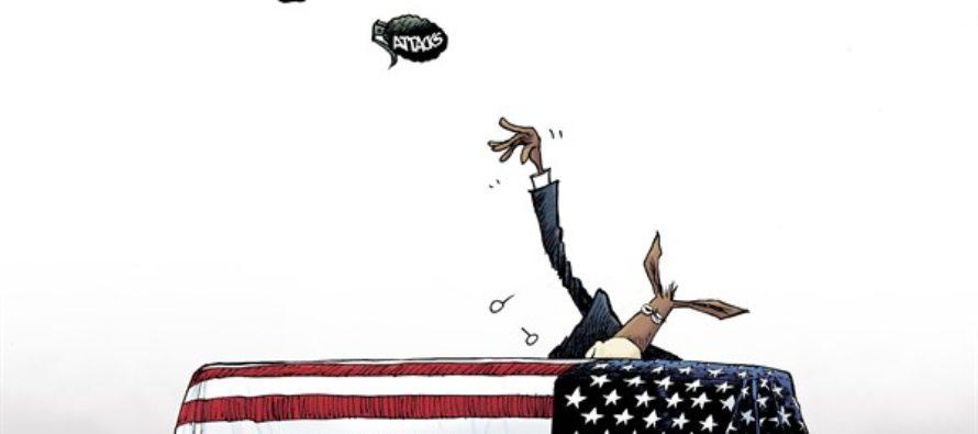 Trump Attacks (Cartoon)
