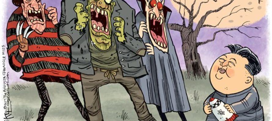 Kim Jong Un Monsters (Cartoon)