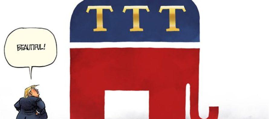 Party of Trump (Cartoon)