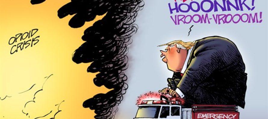 Opioid Emergency (Cartoon)