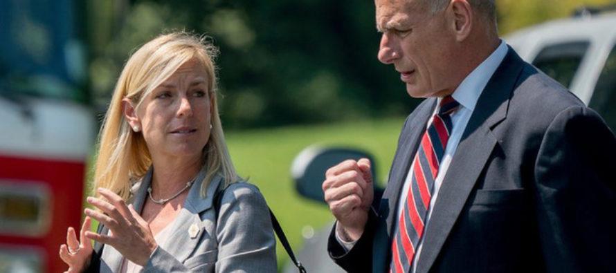 BREAKING: President Trump Announces Secretary of Homeland Security Nominee [VIDEO]