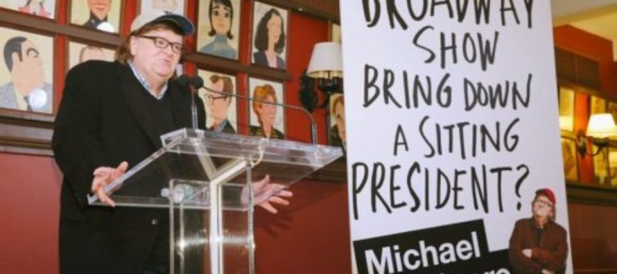 Trump Makes Fun of Michael Moore Over Broadway Play That Is A 'Total Bomb'