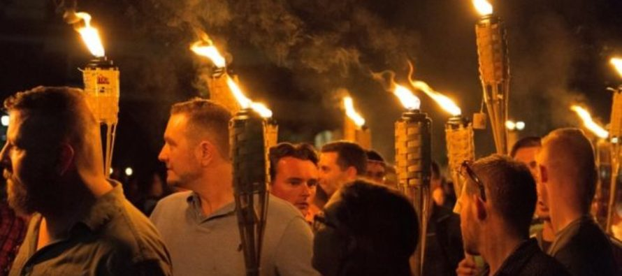White Nationalists Return to Charlottesville with Tiki Torches