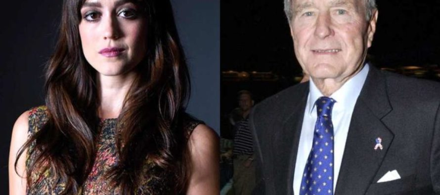 SHOCK PHOTOS: George H. W. Bush APOLOGIZES After Being Caught 'Sexually Assaulting' Actress