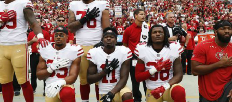 NBC Executive Plans On Promoting ALL Players Protesting National Anthem 'It's a Pretty Big Story'