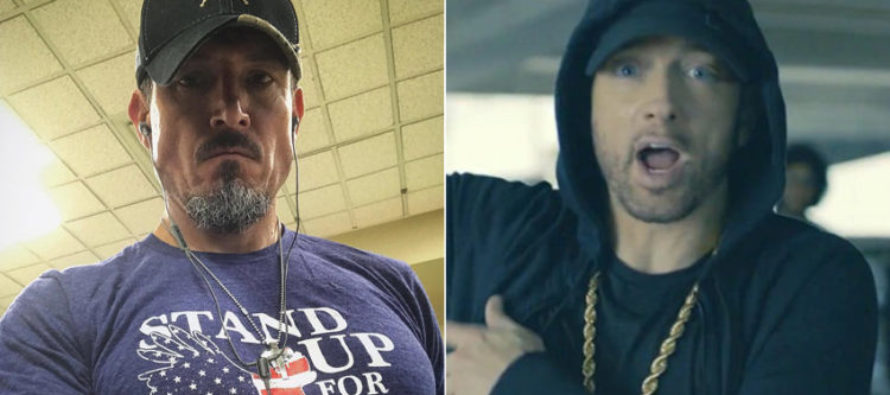GAME OVER! Benghazi Hero Sees Eminem's Anti-Trump Rap – Gives JARRING Response!
