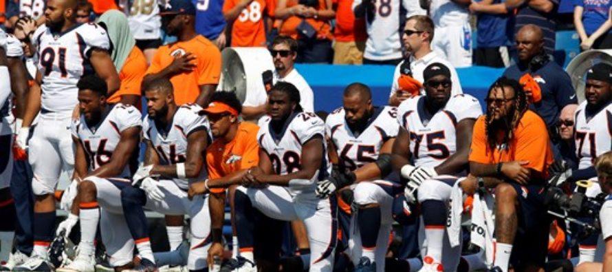 Broncos Team Gets TERRIBLE NEWS After Kneeling For National Anthem