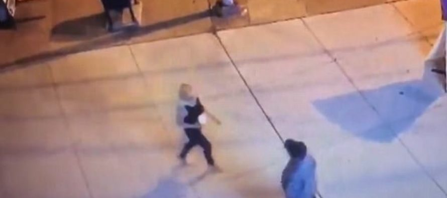 Thug Brutally Beats Woman – Bystanders TAKE PHOTOS Instead of Helping [VIDEO]