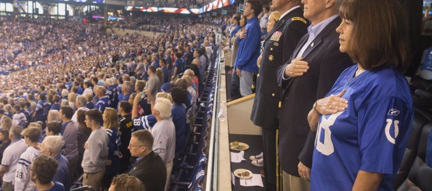 VP Mike Pence Leaves Colts Game After They Disrespect the Flag