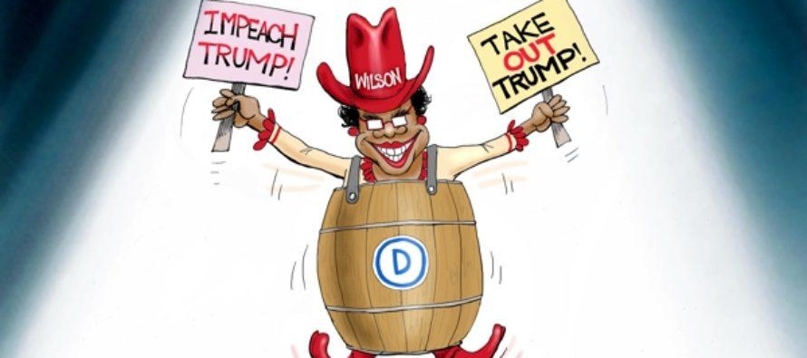Democrat Rock Star (Cartoon)