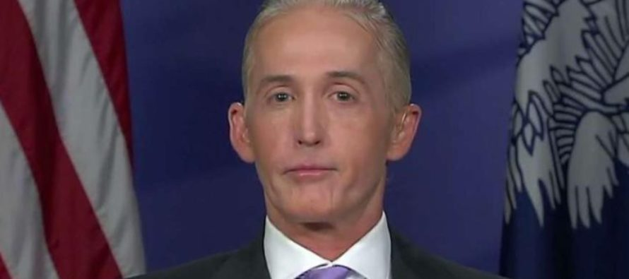 Gowdy Unleashes: Clinton Potentially Laundered Money Through Law Firm To Avoid Transparency Laws [VIDEO]