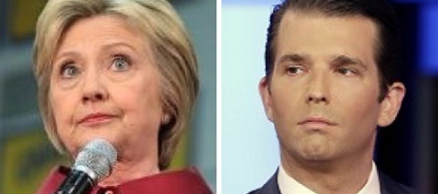 Trump Jr. Trolls Clinton Over Her Silence On Weinstein – Then Rob Schneider Joins And GAME OVER!