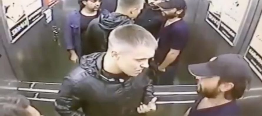 Fight Video: Guy Goes All Jason Bourne & Beats Three Guys in an Elevator