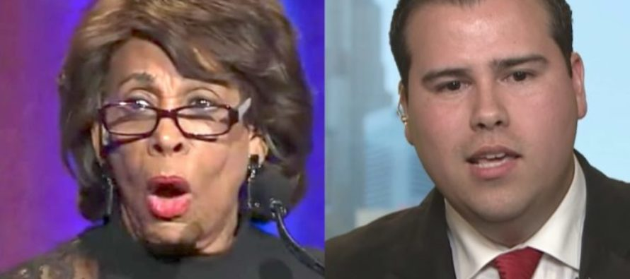 After Maxine Waters Threatens Trump Publicly, GOP Challenger Calls For Her ARREST – And Means It! [VIDEO]