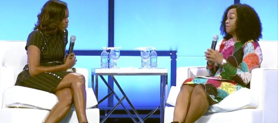 Michelle Obama: Americans Don't Trust Politics, Because GOP Is 'All Men, All White' [VIDEO]