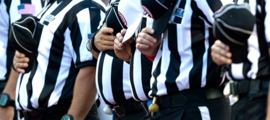 Referees Are Done With Anthem Protests – Choose To Respond By Walking