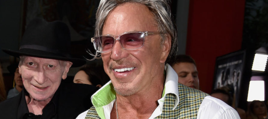 VIDEO: Liberal Actor Mickey Rourke: I feel sorry for Harvey Weinstein. He's done so much good