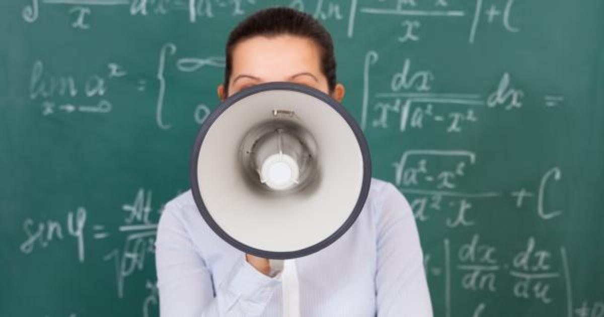 "Group of Professors: Math is ""unjust"" and ""oppressive"" to minority students"