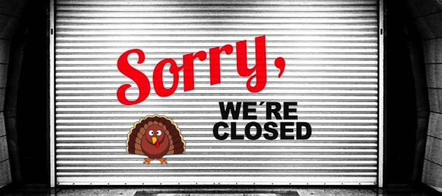 Here's a List of Stores That Will be Closed This Thanksgiving